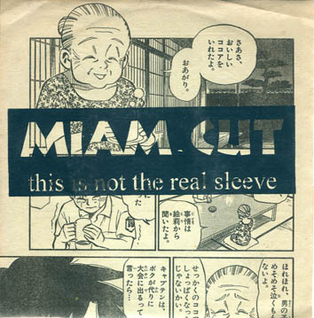 CUT / MIAM - This Is Not The Real Sleeve