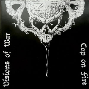 Cop On Fire /Visions Of War - split CD