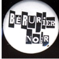 Badge - Bérurier Noir - cut'n paste (blanc)