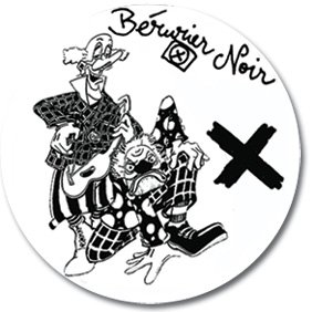 Badge - Bérurier Noir - 2 Clowns