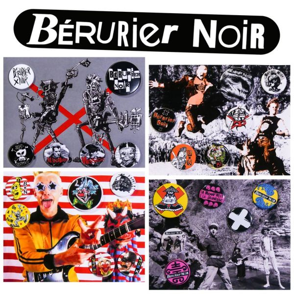 Badges Bérurier Noir