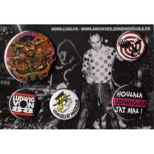 Badges Ludwig Von 88