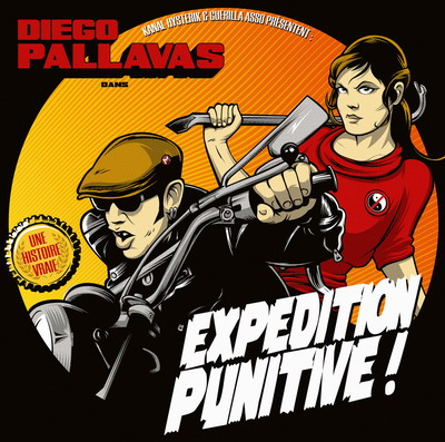 Diégo Pallavas - Expédition punitive ! (LP)