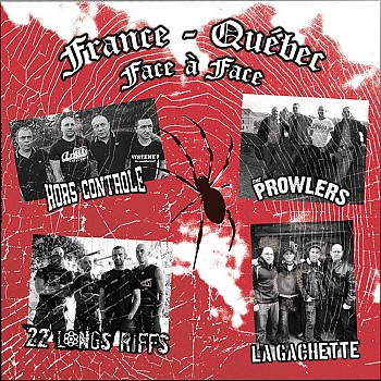 Split France Quebec - Face à Face (LP)