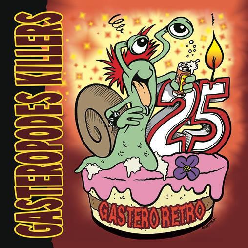 Gastéropodes killers- Gastero retro