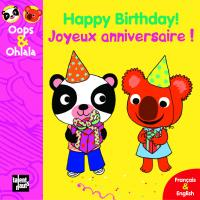 (bilingue) Happy Birthday ! Joyeux Anniversaire !