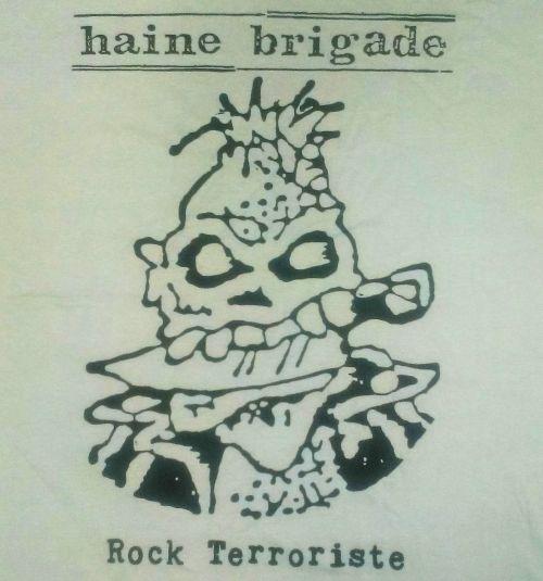 Tshirt Haine Brigade - Rock terroriste