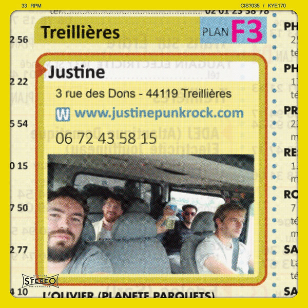 Justine - 06 72 43 58 15 (LP)
