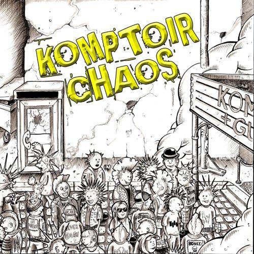 Komptoir Chaos - Seconde génération (LP)