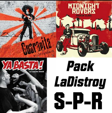 "Pack LaDistroy ""Ska Punk Rock"""