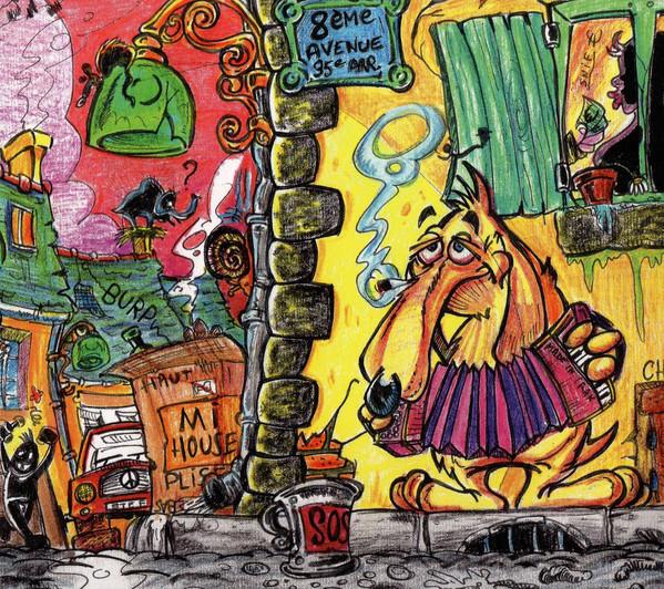 Les Clébards - Histoires de trottoirs (LP)