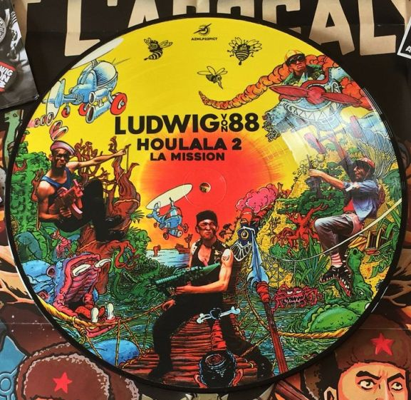 Ludwig Von 88 - Houlala 2, picture disc (LP)