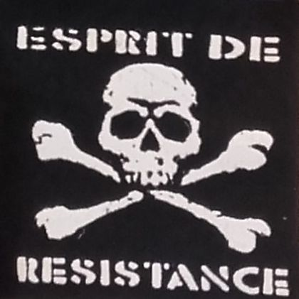 Patch Esprit de Résistance - pirate