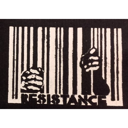 Patch Résistance - code barre