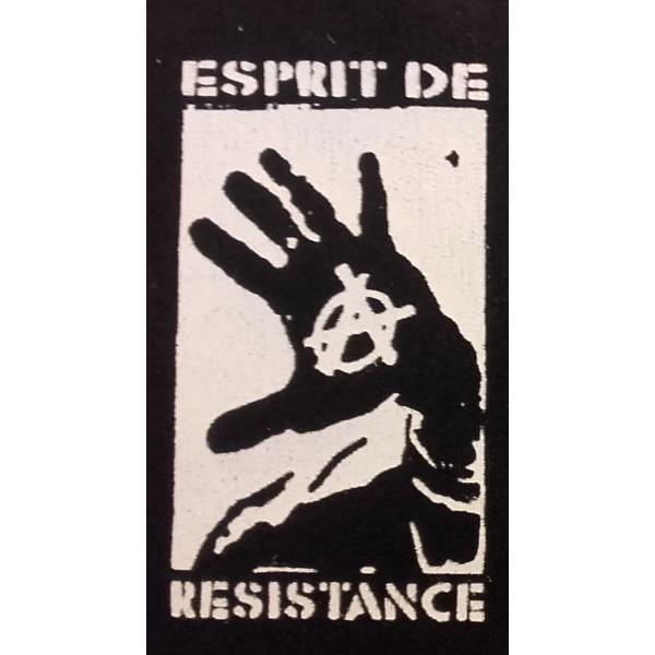 Patch Esprit de Résistance - main ouverte