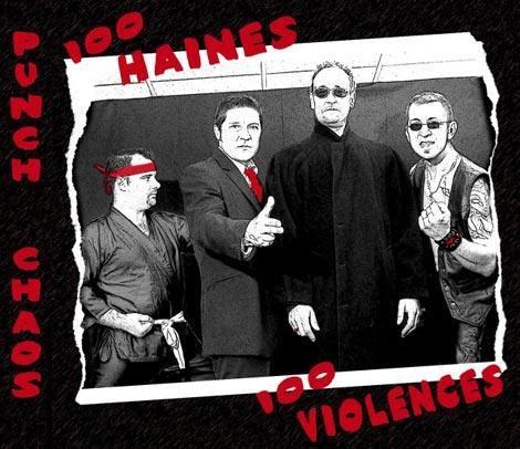 Punch Chaos - 100 Haines, 100 Violences