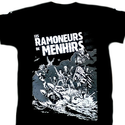 Tshirt Ramoneurs de menhirs - Affiche Quebec