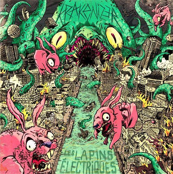 Split Krakenizer vs Les Lapins Electriques (LP)