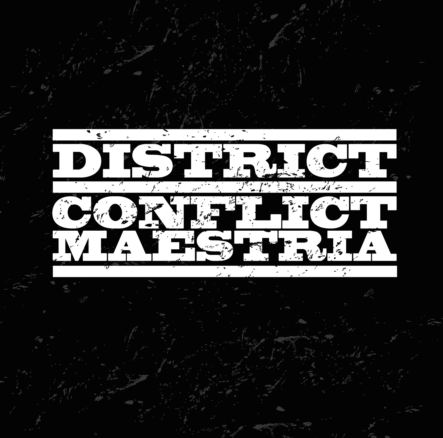District / Conflict Maestria - split LP