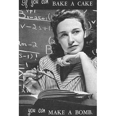 If you can bake a cake... You can make a bomb (Stella Marrs)