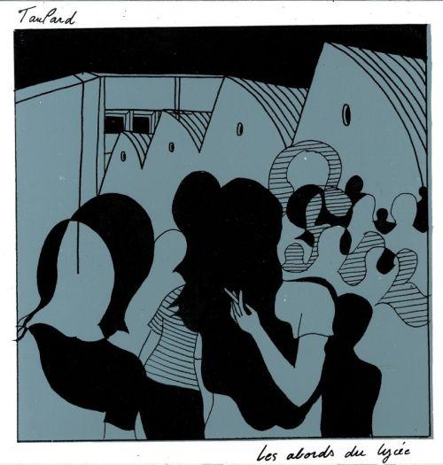 Taulard - Les abords du lycée (LP)