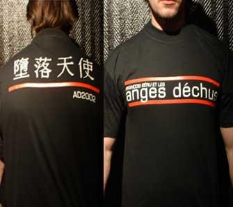 Tshirt Francois Beru et les Anges Dechus